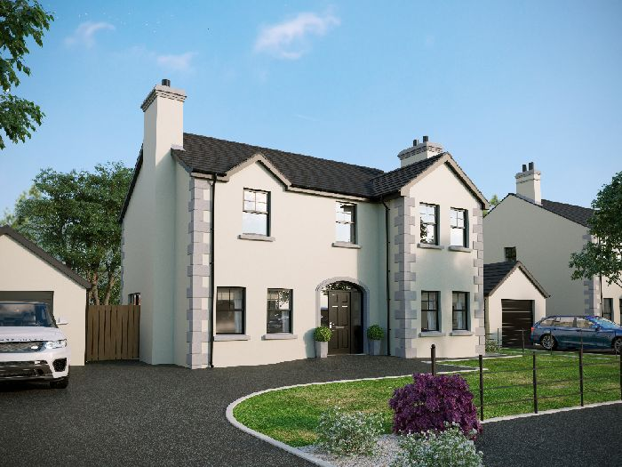 SITE 55, HOUSE TYPE D, FERNY PARK GARDENS, DONAGHMORE