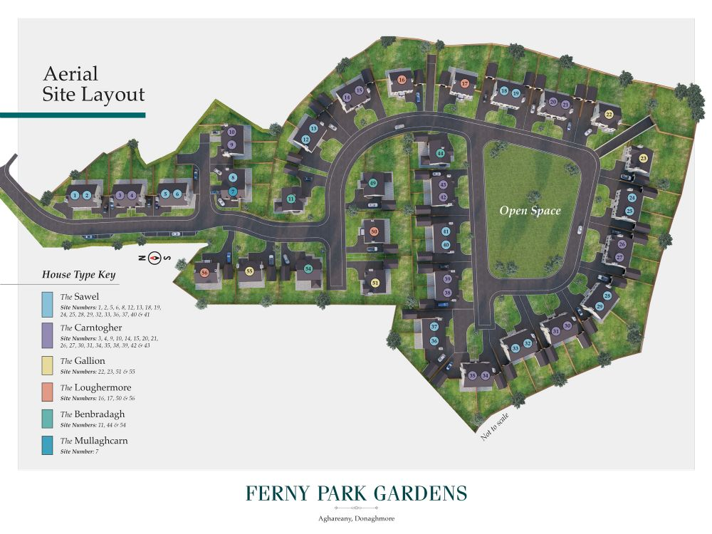 SITE 43, THE CARNTOGHER - HOUSE TYPE B, FERNY PARK GARDENS