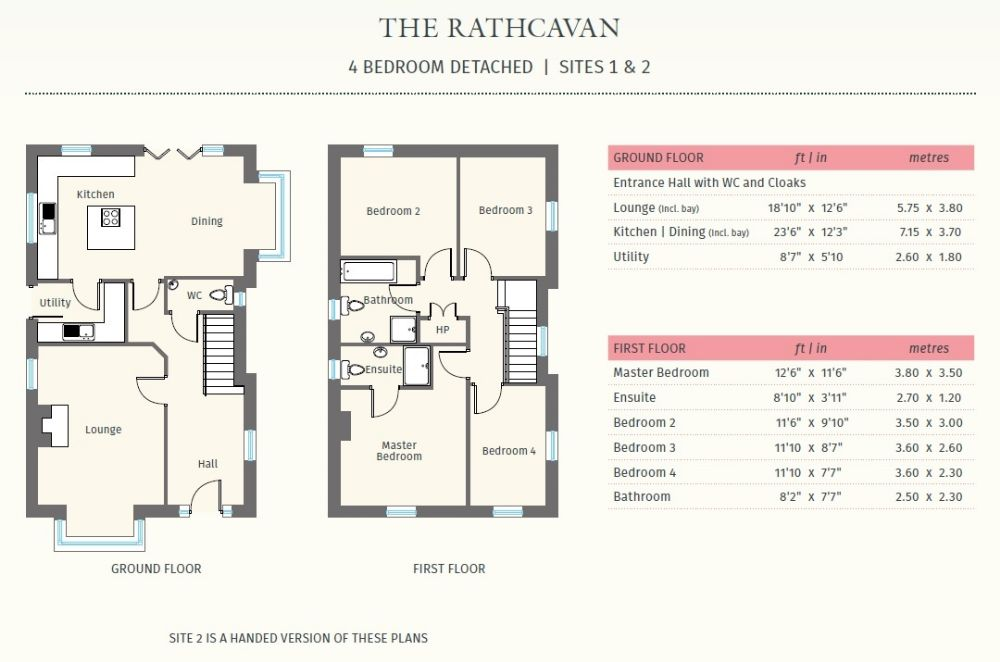 SITE 1, THE RATHCAVAN, ELM PLACE
