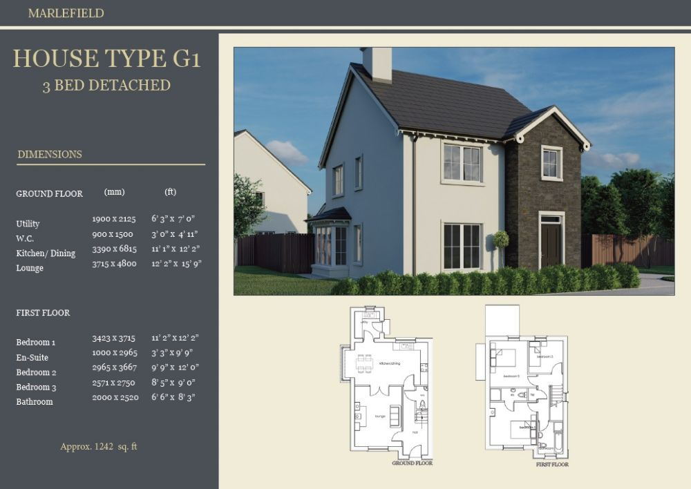 SITE 4 - HOUSE TYPE G1, MARLEFIELD