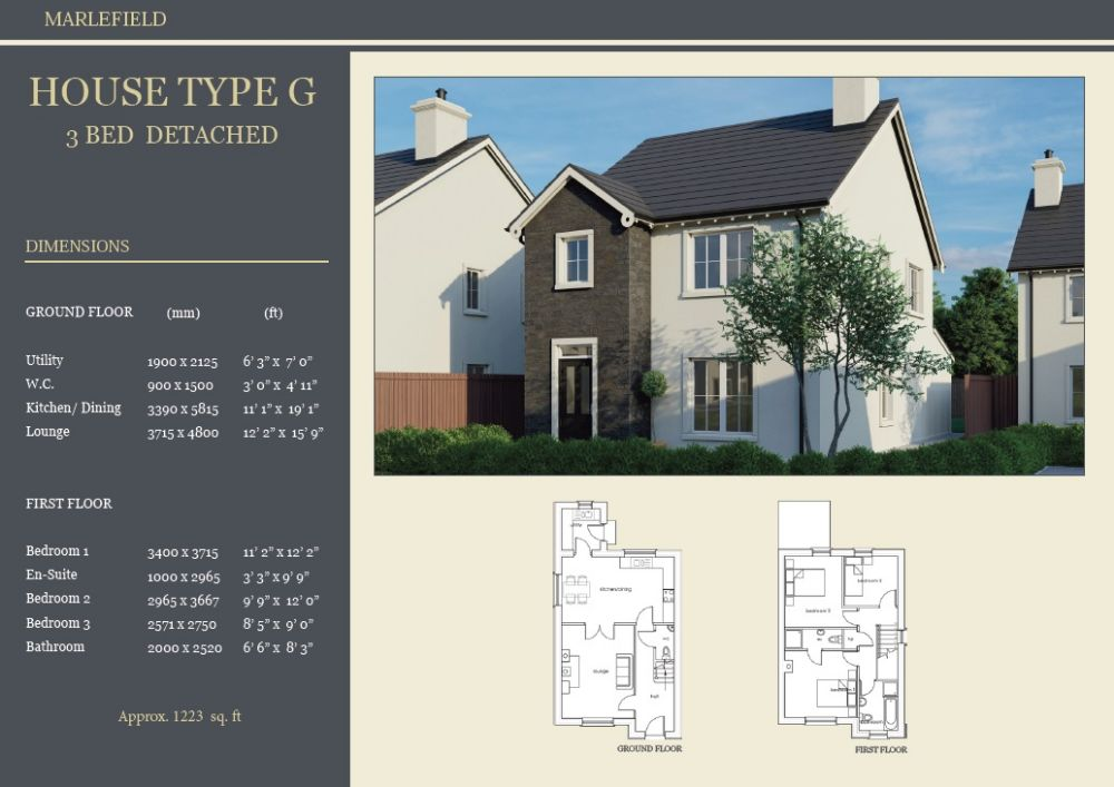 SITE 6 - HOUSE TYPE G, MARLEFIELD