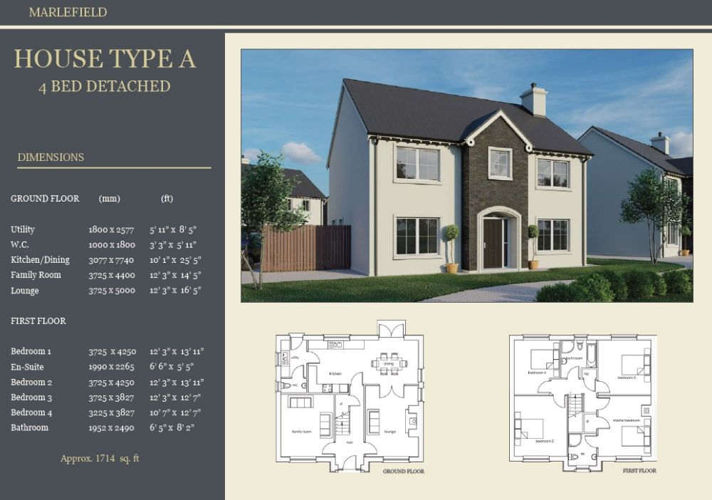 SITE 28 - HOUSE TYPE A, MARLEFIELD